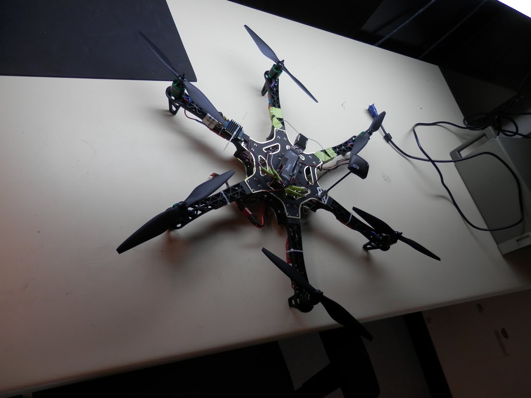 Photo of hexacopter